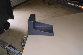 Products fishon fabrications for Mounting a transom mount trolling motor on the bow